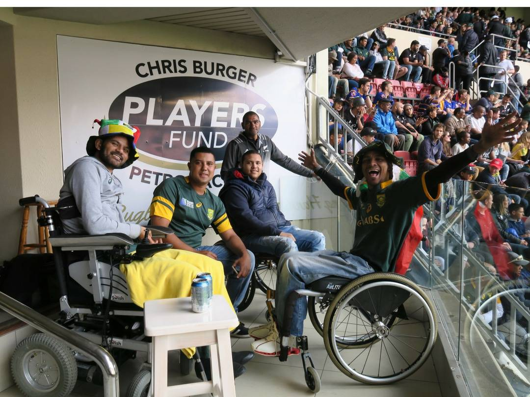 Injured players of the Players' Fund treated to a test of epic proportions