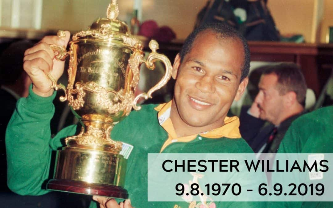 Farewell to a legend – Chester Williams