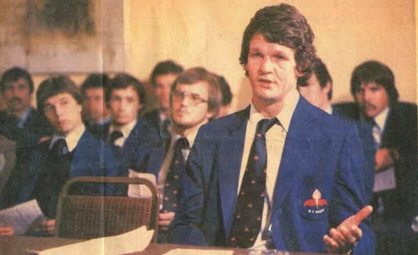 Morne on 9 Sept 1980 - the start of the Chris Burger Fund