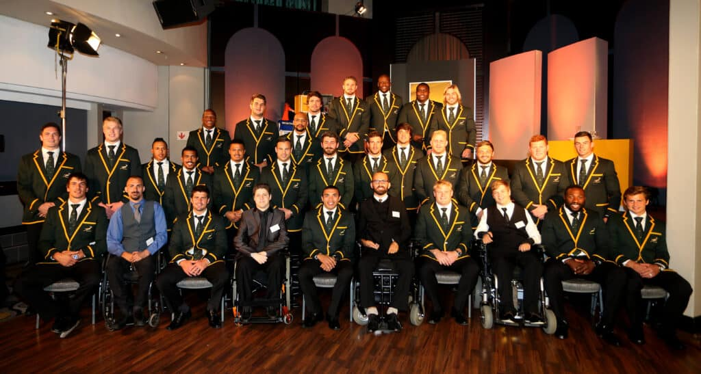 Springbok support of the Players' Fund